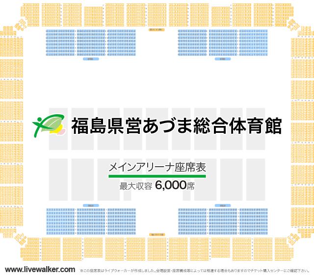 あづま総合体育館 ライブ