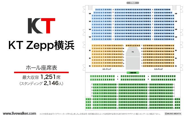 パシフィコ 横浜 国立 大 ホール 座席