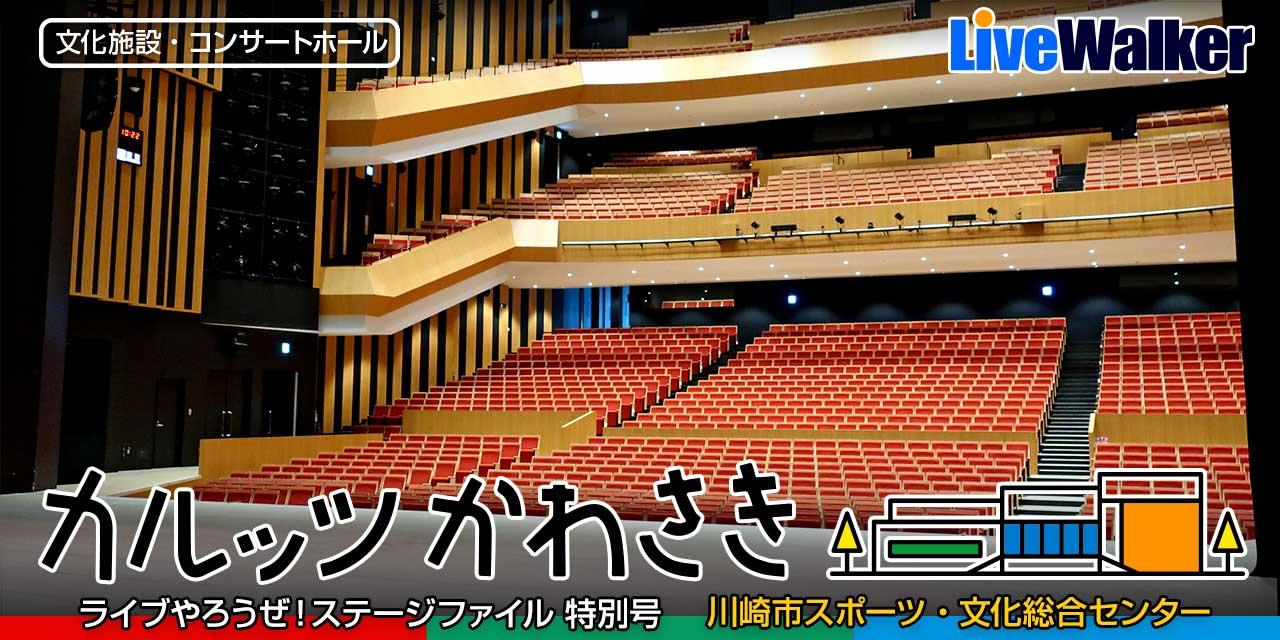カルッツかわさき(川崎市)コンサートホール完全ガイド